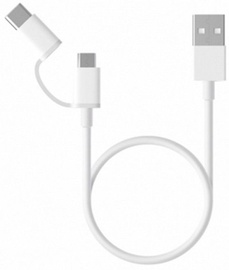 Xiaomi Mi 2-in-1 USB Cable White 1m