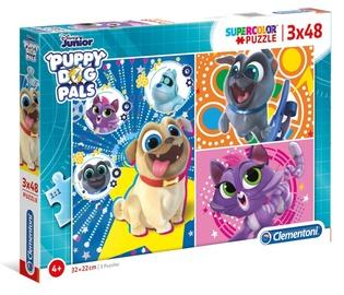 Clementoni Puzzle SuperColor Puppy 3x48pcs 25247