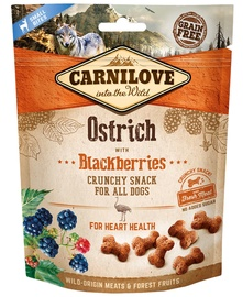 Carnilove Dog Snack Ostrich with Blackberries 200g