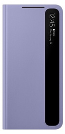 Samsung Smart Clear View Cover For Samsung Galaxy S21 Violet