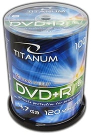 Titanum DVD+R 4.7GB x16 Cake Box 100pcs