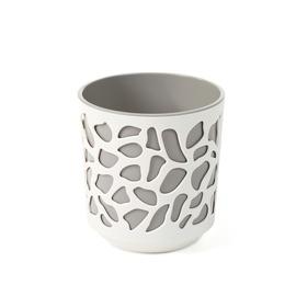 Вазон SN Duet Indoor Plant Pot 25.5x27cm White Beige
