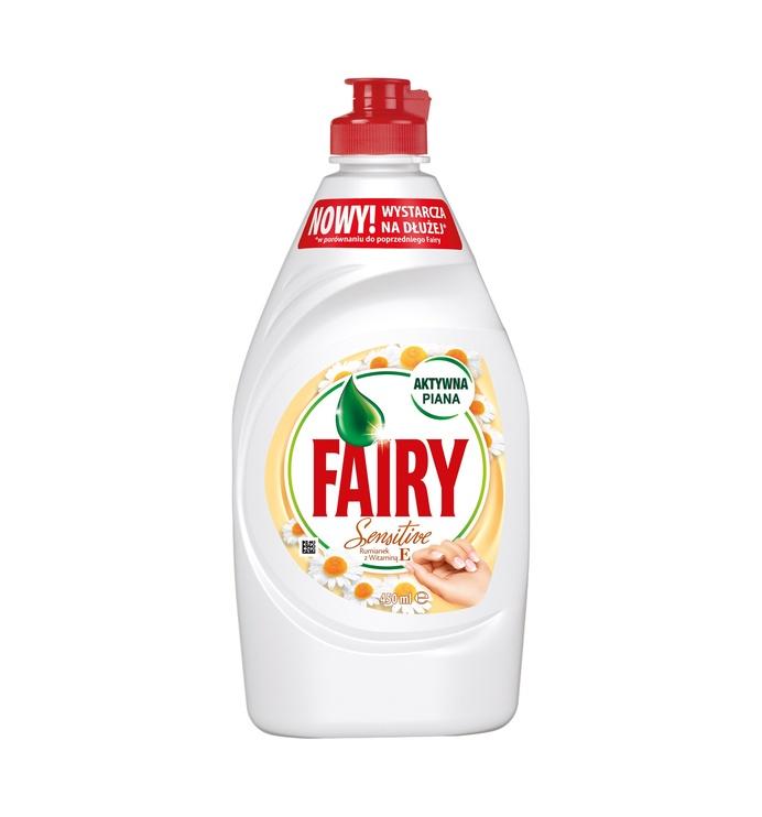 Fairy Sensitive Chamomile & Vitamin E 450ml