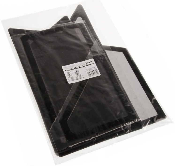 DEMCiflex Dust Filter Black DF0202 Set For NZXT Phantom