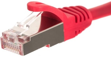 Netrack CAT 5e FTP/STP Patch Cable Red 0.25m
