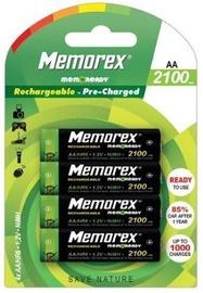 Memorex Rechargable Batteries 1200mAh 4pcs AA