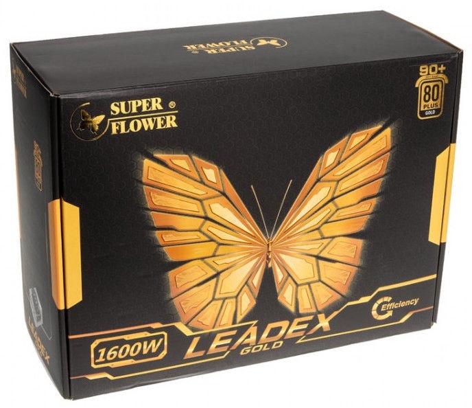 Super Flower Leadex 80 Plus Gold PSU 1600W