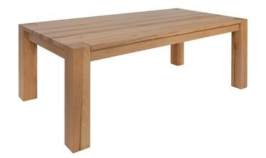 Black Red White Verde Table 200x110cm Natural Oak