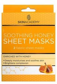 Skin Academy Soothing Honey Sheet Mask 2pcs