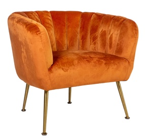 Fotelis Home4you Tucker Orange, 78x71x69 cm