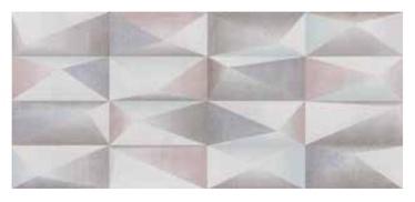 Keraminės dekoratyvinės sienų plytelės RLV Citizen Mix, 80x36 cm