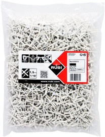 RUBI Tile Spacers for 1.5mm Joints 1000pcs