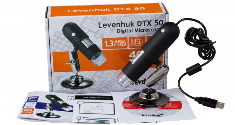 Levenhuk DTX 50 Digital Microscope 20-400x