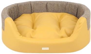 Amiplay Morgan Dog Ellipse Bedding L 73x64x22cm Yellow