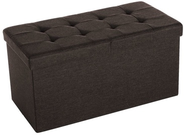 Songmics Ottoman Brown 76x38x38cm