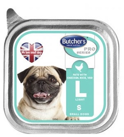 Butchers Pro Series Pate With Chicken Rice And Vegetables 150g