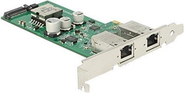 Delock PCIe 2 x RJ45 Gigabit LAN PoE+