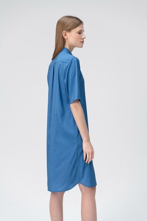 Audimas Light Fabric Dress Blue S