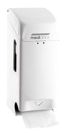 Mediclinics Toilet Paper Dispenser White