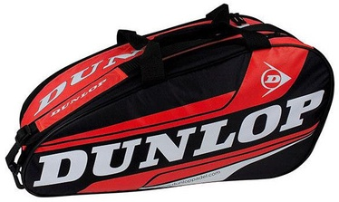 Dunlop Padel Play Mediano Tennis Bag Black Red