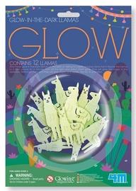 4M Glow In The Dark Llamas 12pcs