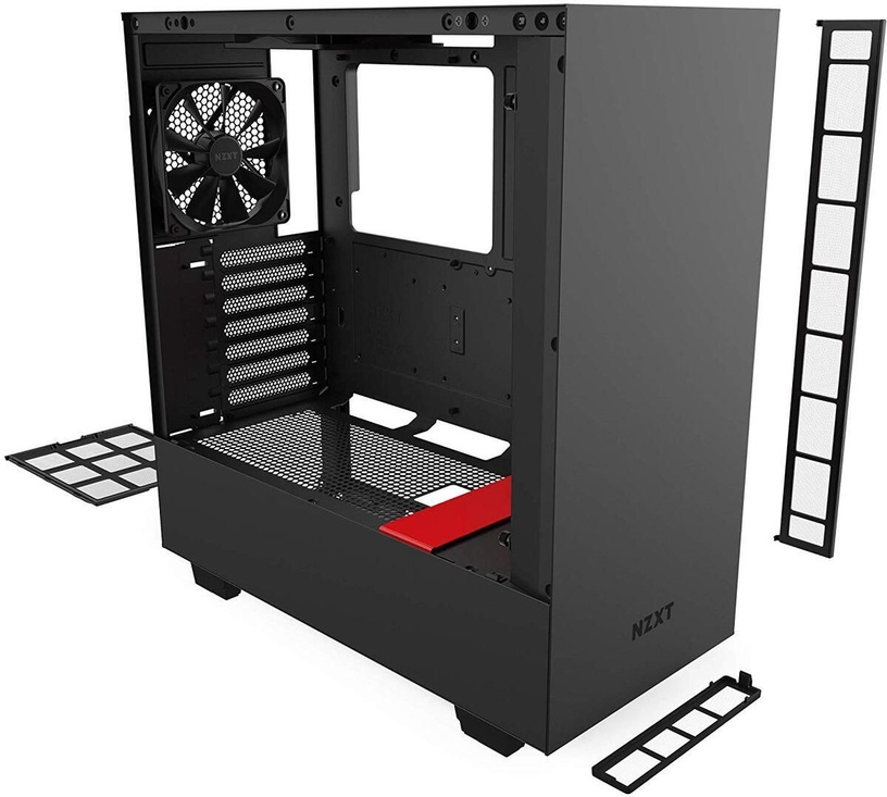 NZXT H510 ATX Mid-Tower Black/Red