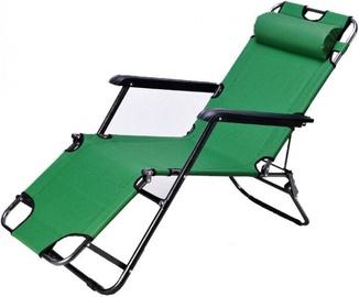 Ištiesiamas sodo gultas, žalias