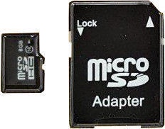 Карта памяти IMRO 10 8GB MicroSD Class 10 UHS-I + Adapter