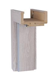 Reguliuojama stakta 140-180, pilko ąžuolo, horizontali 60cm