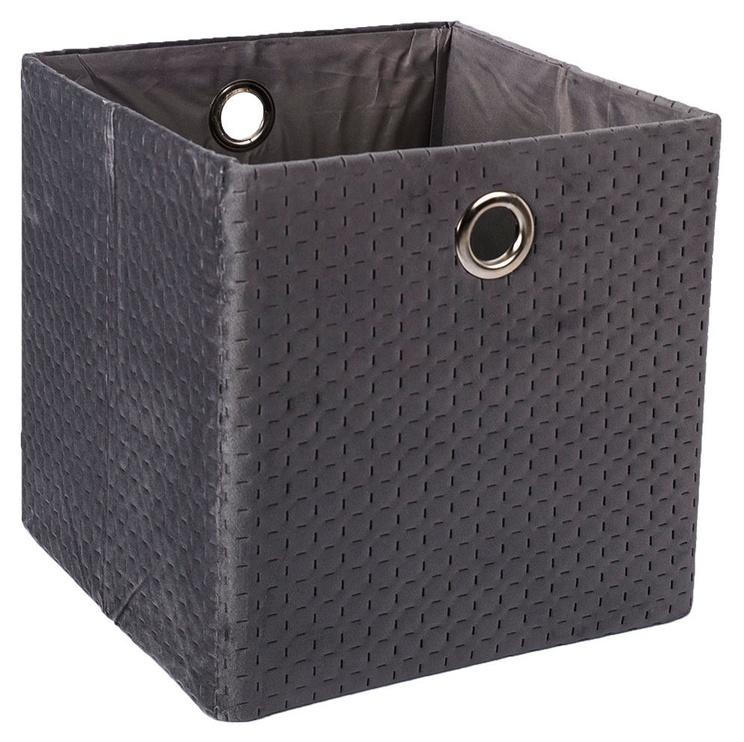 Home4you Yana Storage Box Dark Gray