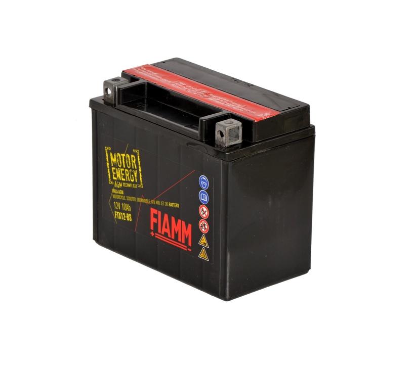 Аккумулятор FIAMM Motorcycle Batterie FT12B-BS 10 Ah 150A 12V
