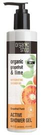 Гель для душа Organic Shop Active Grapefruit Punch, 280 мл