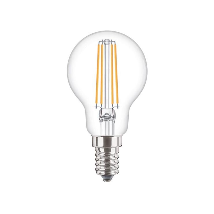 SPULDZE LED FIL P45 4W E14 WW CL ND 470L (STANDART)