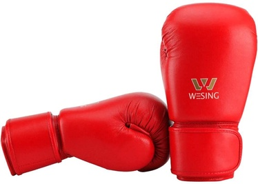 Wesing Aiba Boxing Gloves 10oz Red