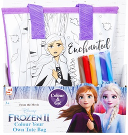 Sambro Frozen II Enchanted Colour Your Own Tote Bag