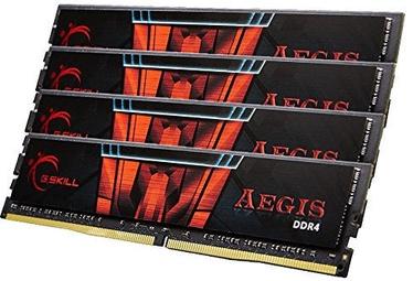 G.SKILL Aegis DDR4 Series KIT OF 4 32GB 3200MHz CL16 F4-3200C16Q-64GIS