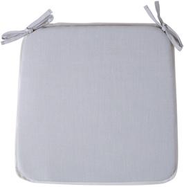 Home4you Florida Chair Pad 39x39cm Light Grey