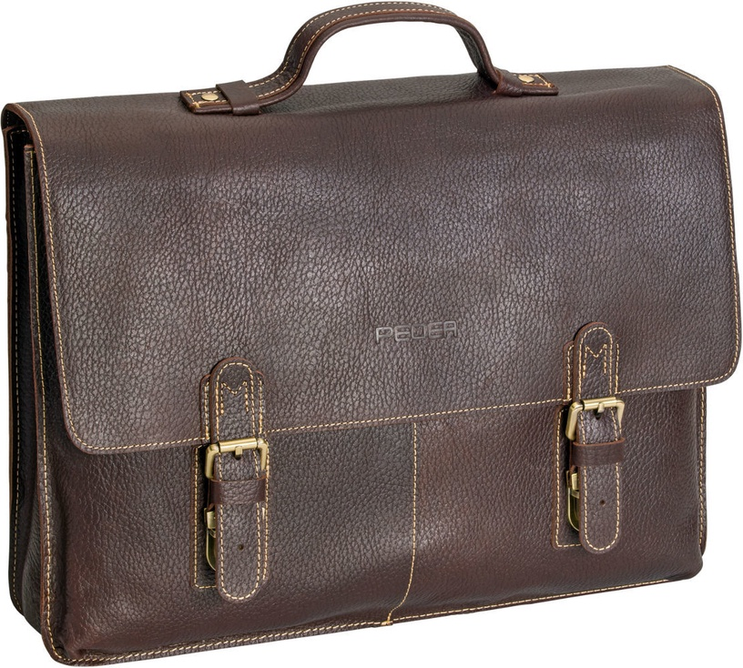 Pedea San Marcos Notebook Bag 17.3'' Brown