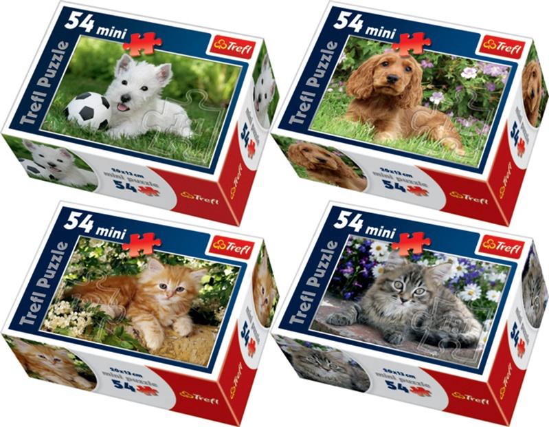 Puzzle Koerad 54-osaline