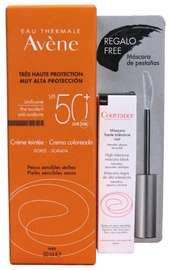 Avene Very High Protection Tinted Cream SPF50+ 50ml + Couvrance High Tolerance Mascara Black