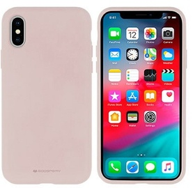 Mercury Soft Touch Matte Back Case For Apple iPhone XS Max Pink Sand