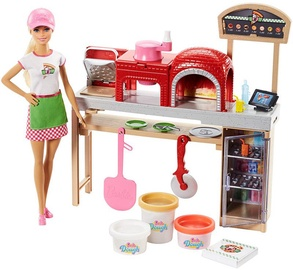 Mattel Barbie Pizza Chef Doll & Playset FHR09
