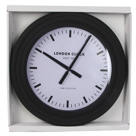 Verners London Clock 61cm Black