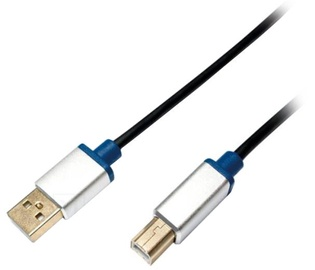 LogiLink Cable USB / USB-B Black 3m