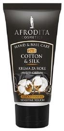 Afrodita Hand Cream Cotton & Silk 75ml