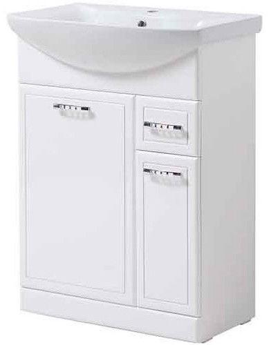 Шкаф для ванной Julius Trading Rio T0116RIOr 600x820x309mm White
