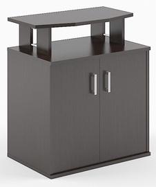 Skyland Simple B450 Office Shelf 90х60х104.5cm Wenge Magic