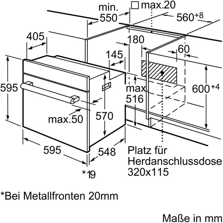 Cepeškrāsns Siemens iQ500 HE63BD512
