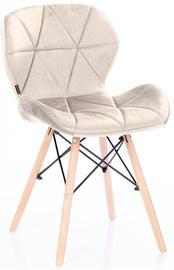 Valgomojo kėdė Homede Silla Velvet Pelican, 4 vnt.