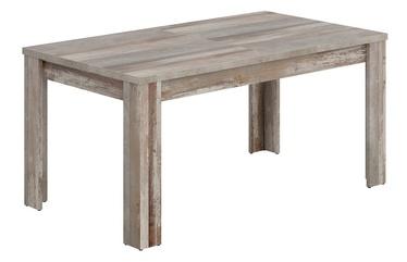 Black Red White Bonanza Extendable Table 160/240cm Canyon Manor Oak